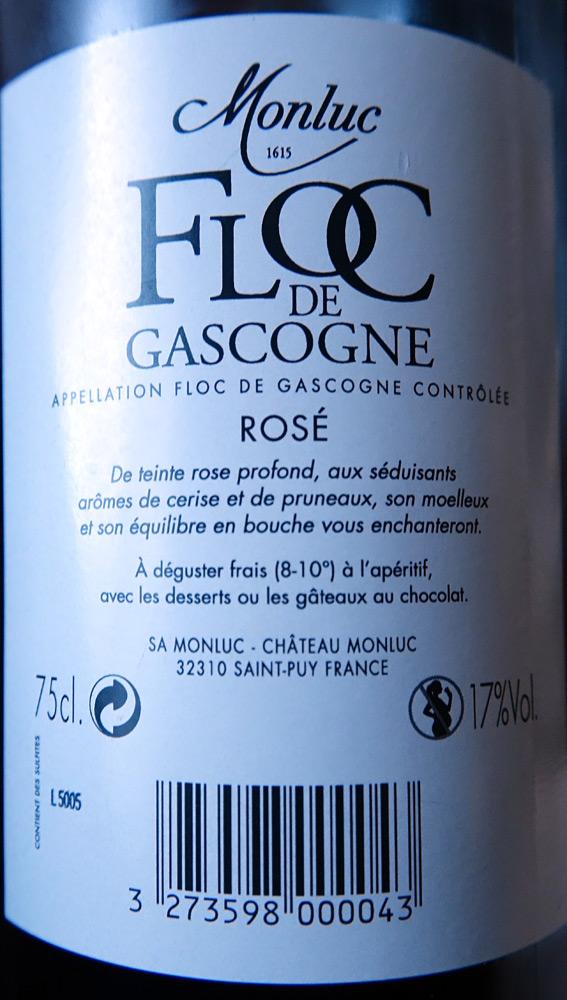Floc de Gascogne rosé