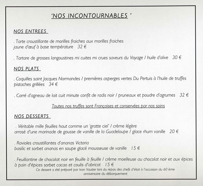 """Les """"Incontournables"""""""