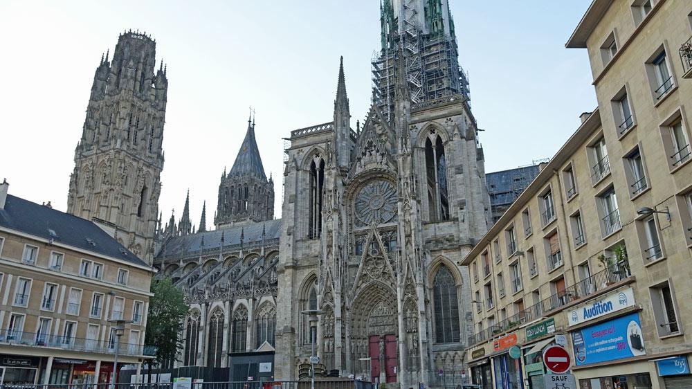 La Cathédrale vue sous un autre angle