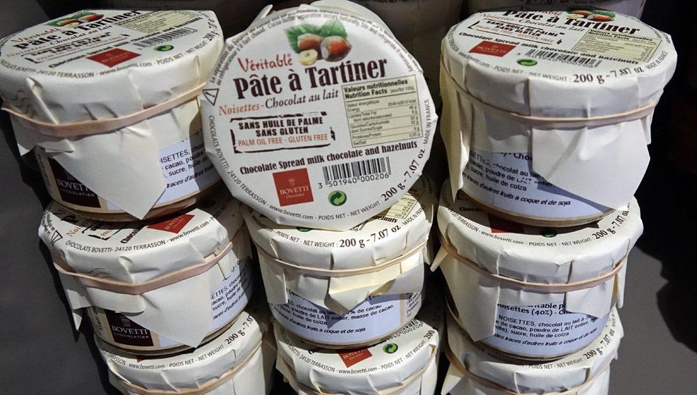 Pâte à tartiner ... sans huile de palme ! Fabrication Bovetti