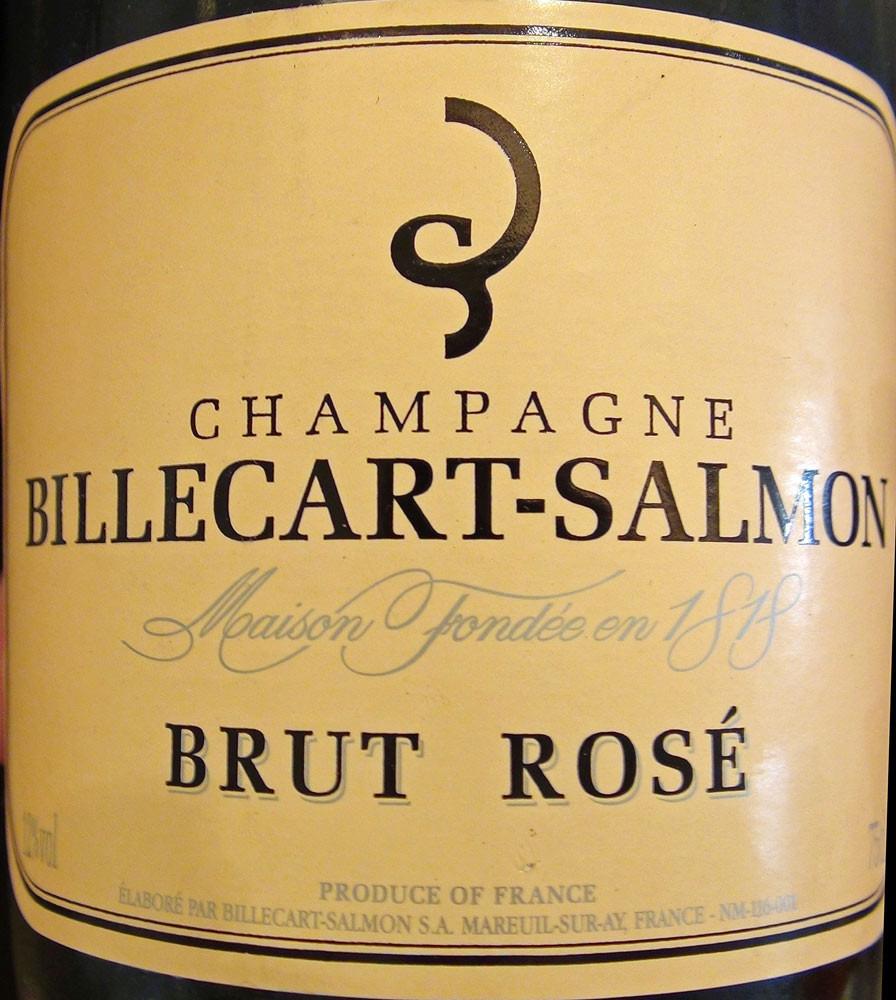 Champagne rosé ... d'assemblage