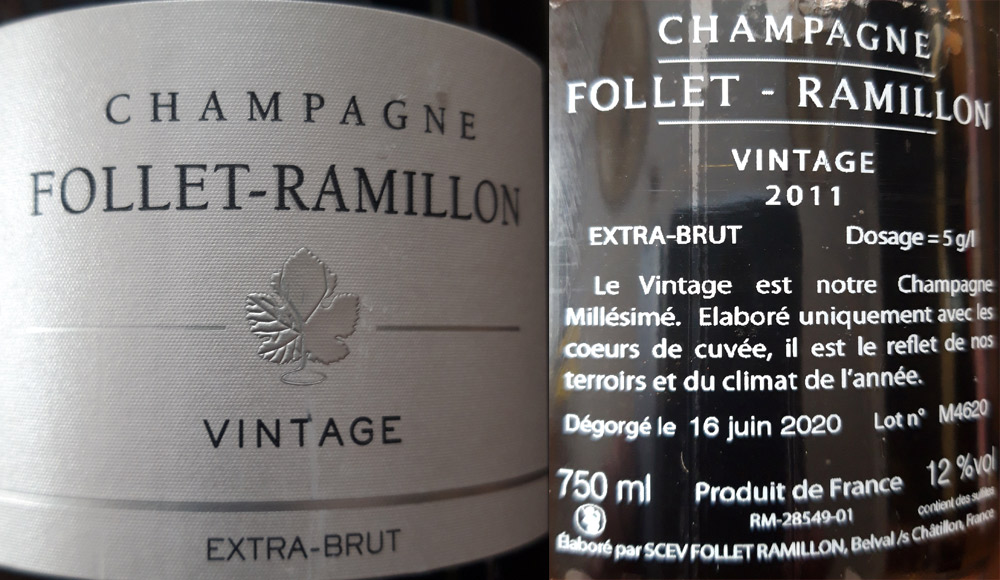Le Champagne de l'apéritif (cave perso !)