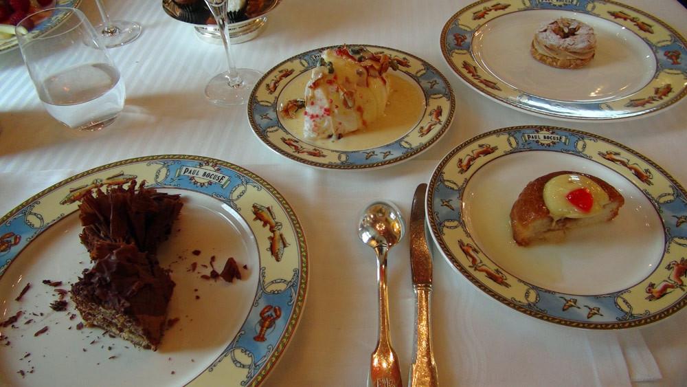 Mes 4 desserts : Paris-Brest - Œuf à la neige - Président - Savarin