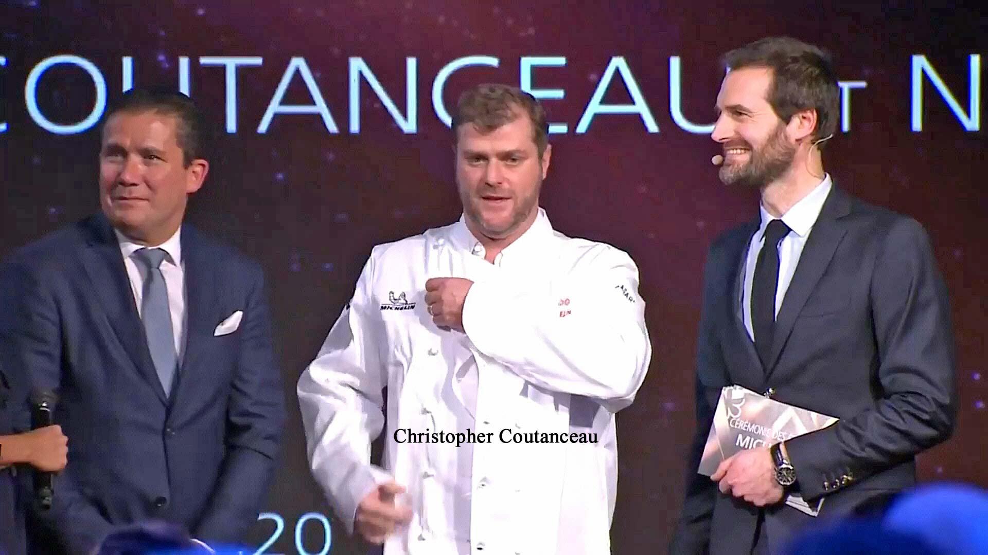 Christopher Coutanceau, nouveau chef 3 étoiles