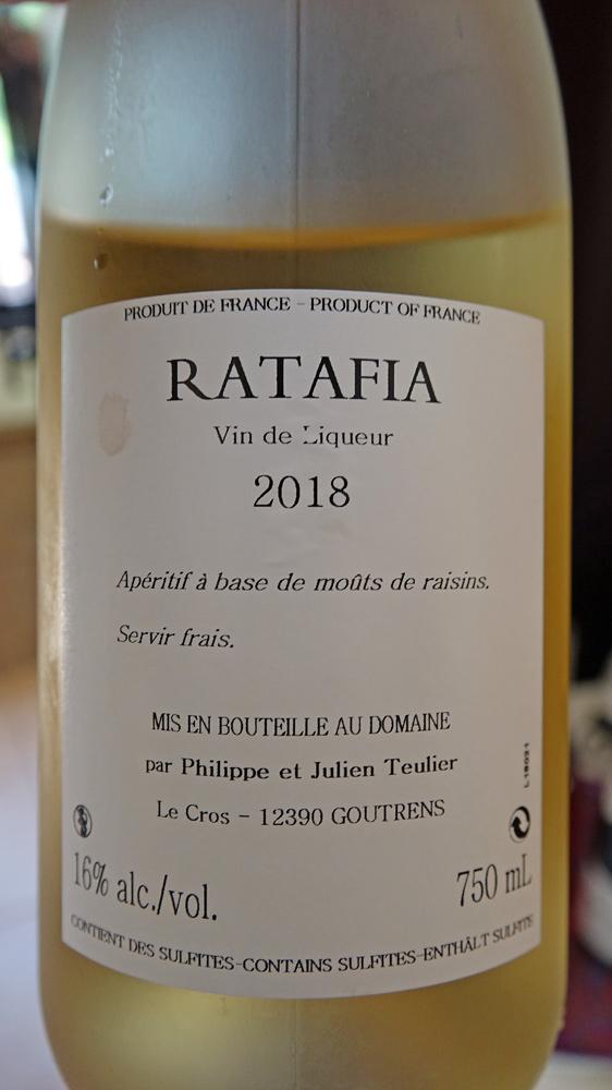 Ratafia blanc