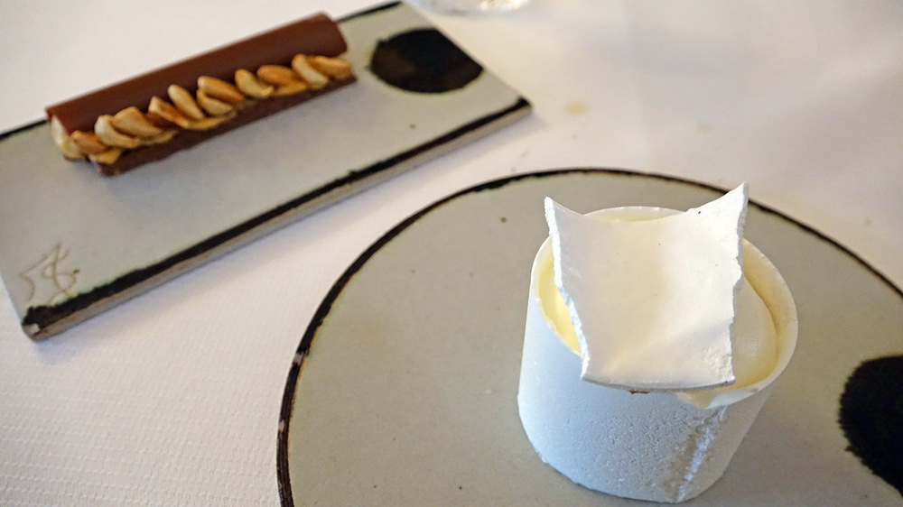 Gourmandises du moment, chocolat et nougat, pamplemousse et miel