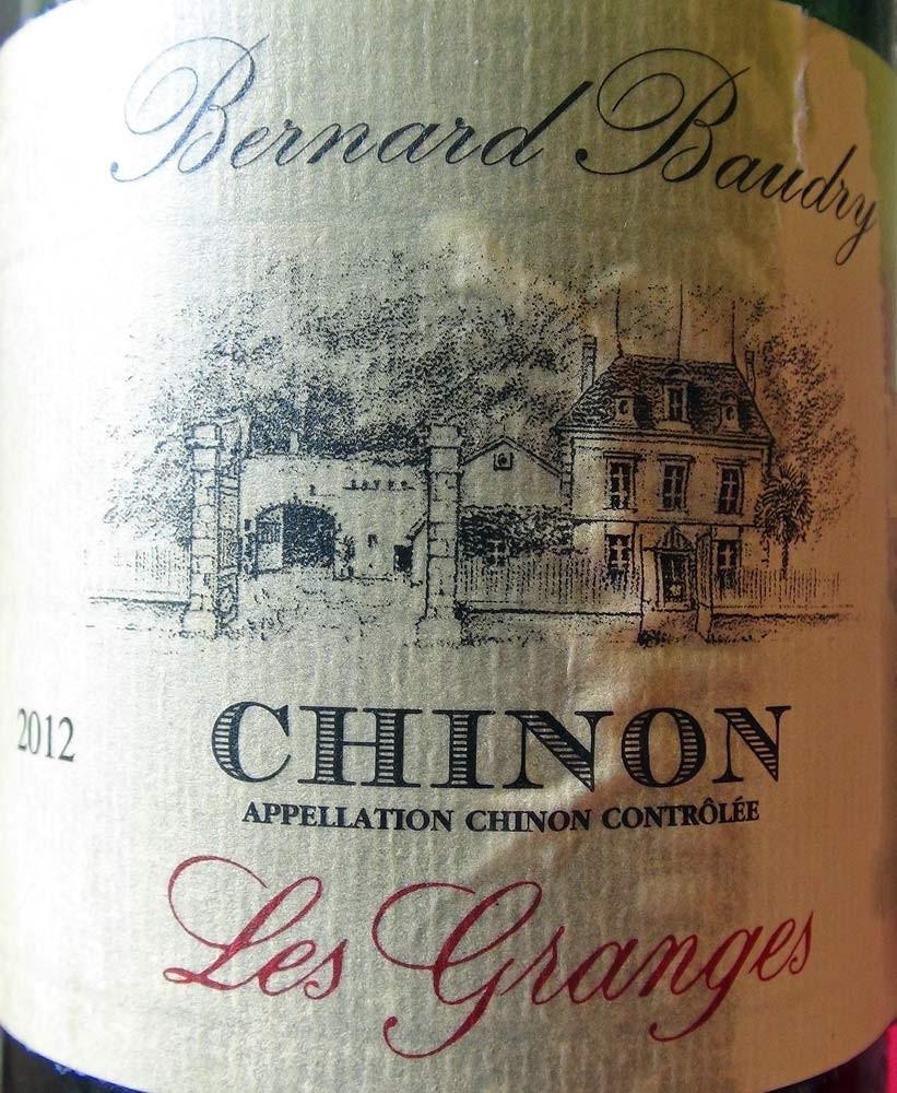 """Chinon 2012 """"Les Granges"""" Bernard Baudry"""""""