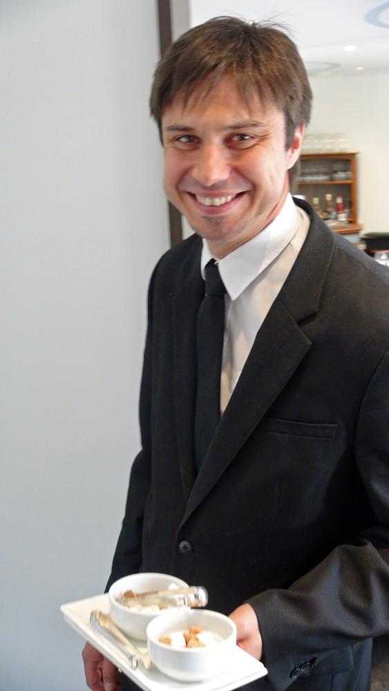 Mickaël Charré, le nouveau sommelier