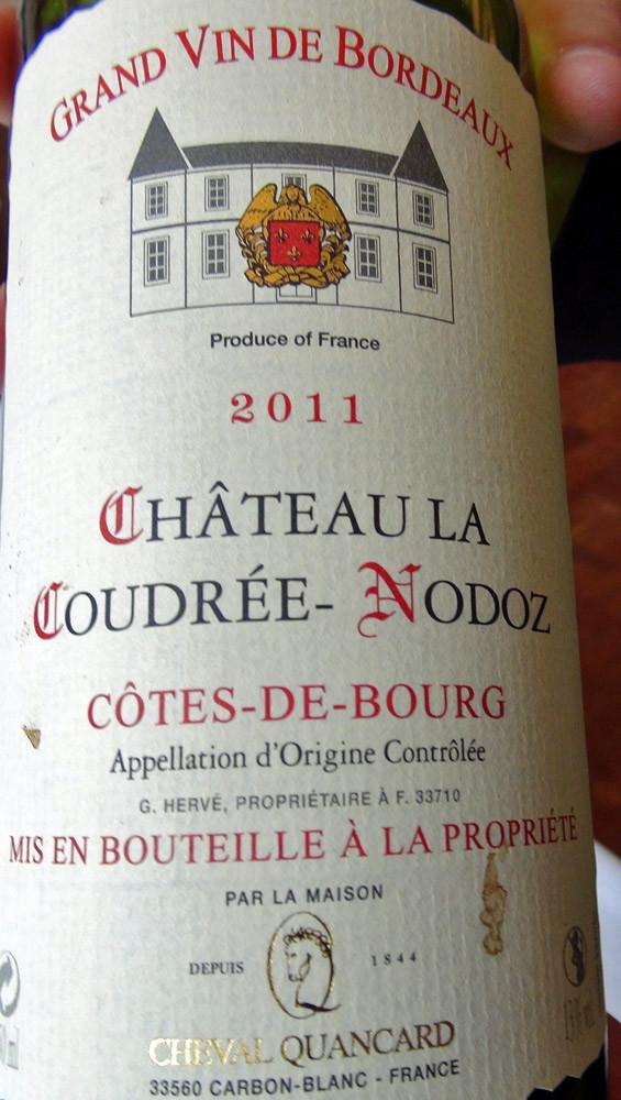 Côtes-de-Bourg 2011