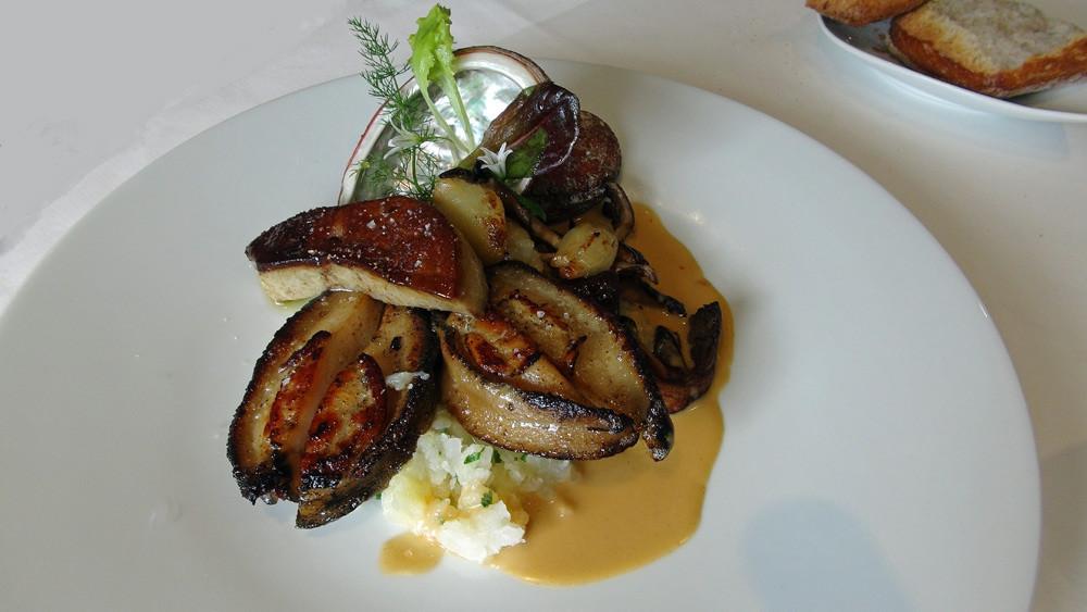Ormeau de Landrellec et Foie gras de canard