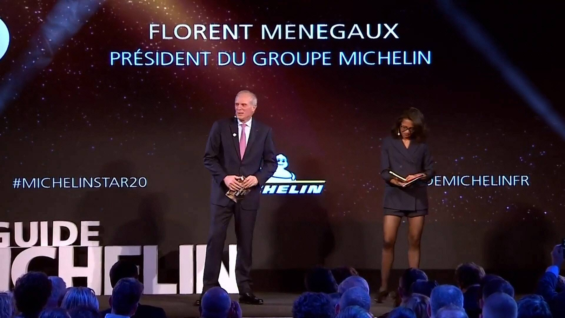 Florent Menegaux - Président du groupe Michelin