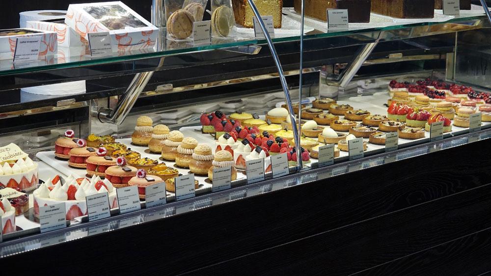 Pâtisseries de chez Kayser, rue Montorgueil