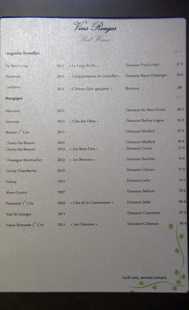 Vins rouges - Languedoc & Bourgogne
