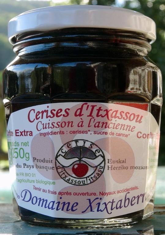"""Confitures de cerises d'Itxassou variété """"Peloa"""""""