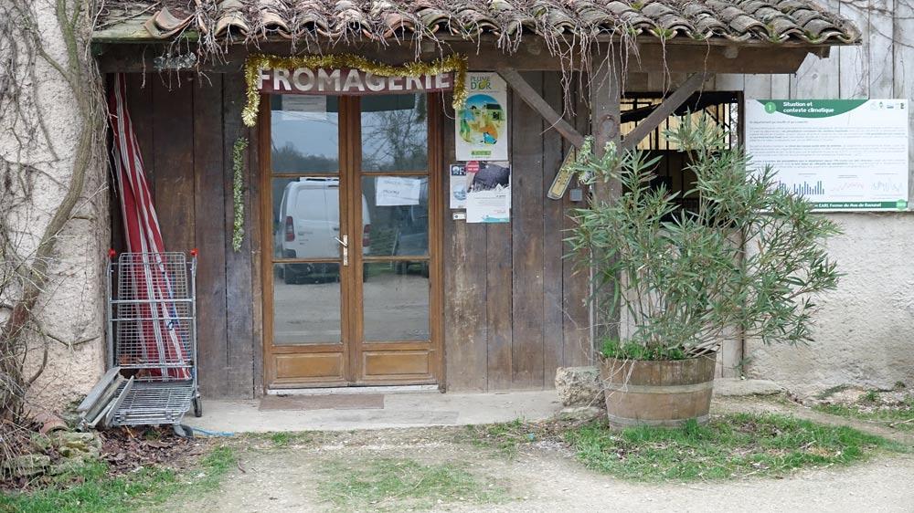 Le lieu d'accueil et de vente