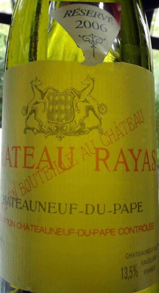 Châteauneuf du Pape 2010 Château Rayas