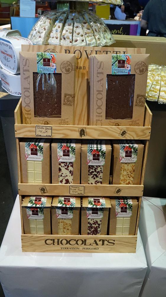 Chocolats Bovetti fabriqués à Champagnac