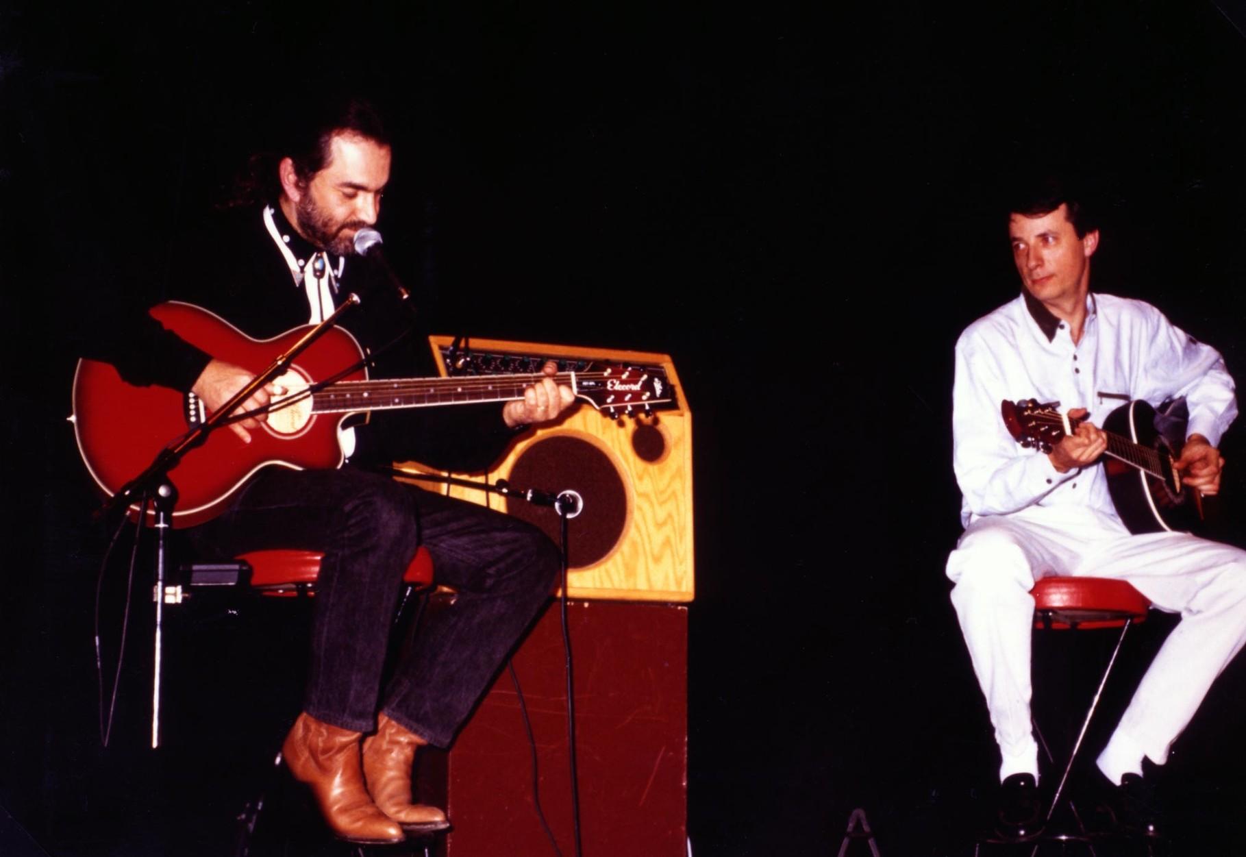 Marcel Dadi en Concert à Blois avec un professeur de musique - 25 février 1992