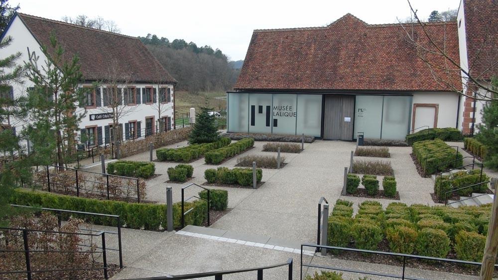 Le bâtiment abritant le musée