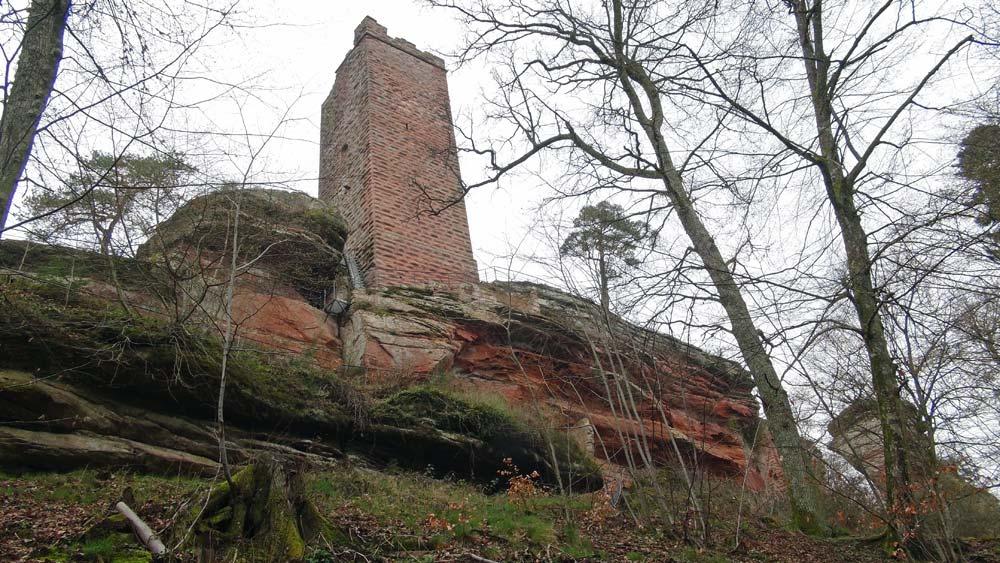 Le château et son donjon