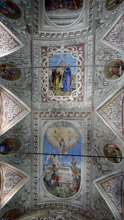 Le plafond de l'église Saint-Pierre & Saint-Paul à Piedicroce