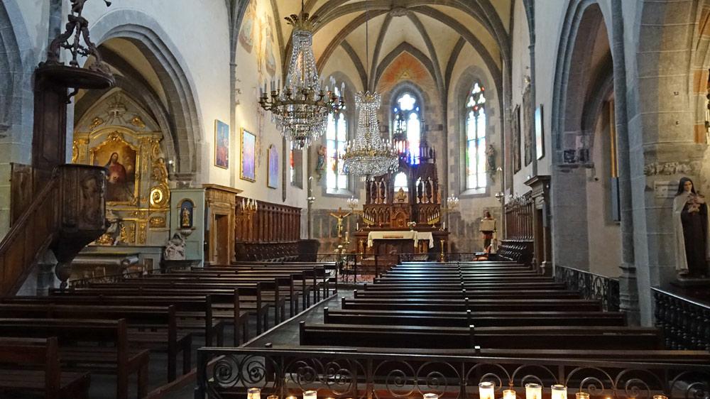 Eglise Saint-Mathieu - Intérieur
