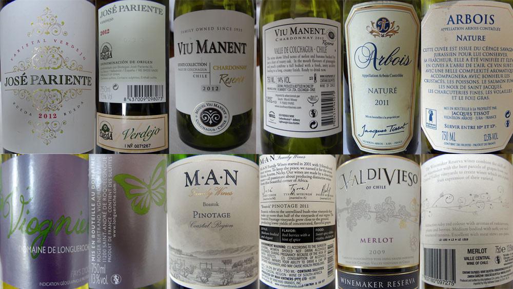 Les vins d'accompagnement (Saint-Jacques - Pannacotta - Asperge - Cabillaud - Foie gras - Onglet)