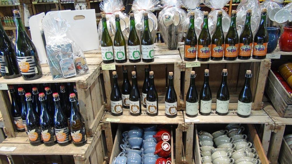 Cidres artisanaux et babioles