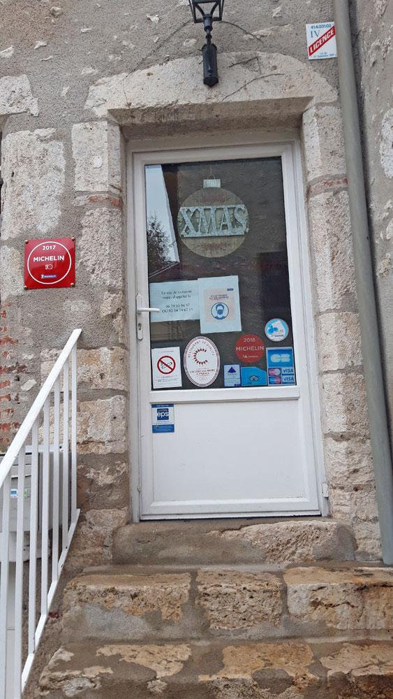 """L'entrée pour le """"retrait magasin"""""""