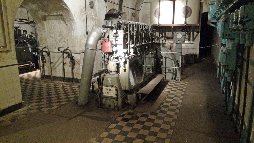 Moteur diesel pour produire de l'électricité