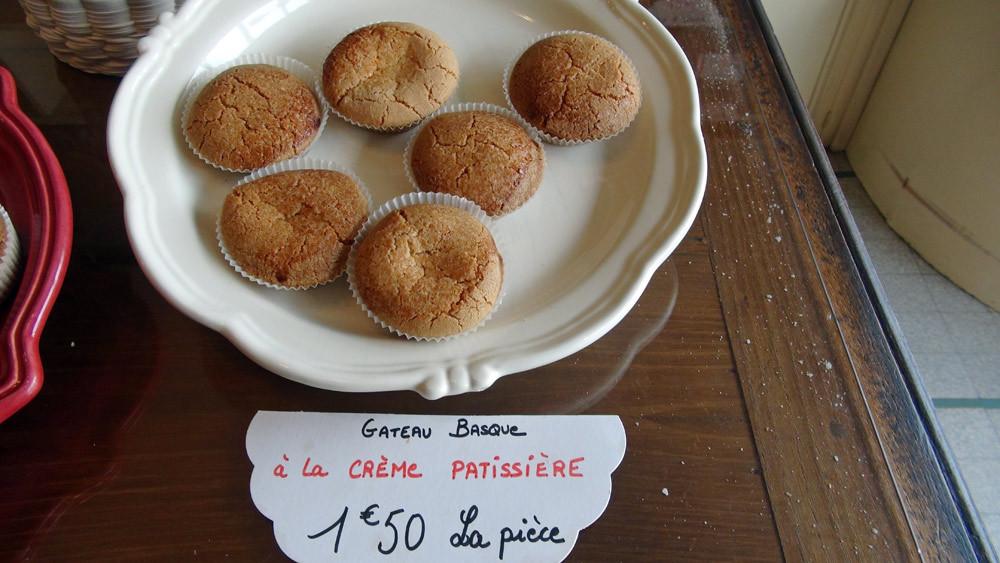 Gâteaux basques individuels de la maison Pereuil