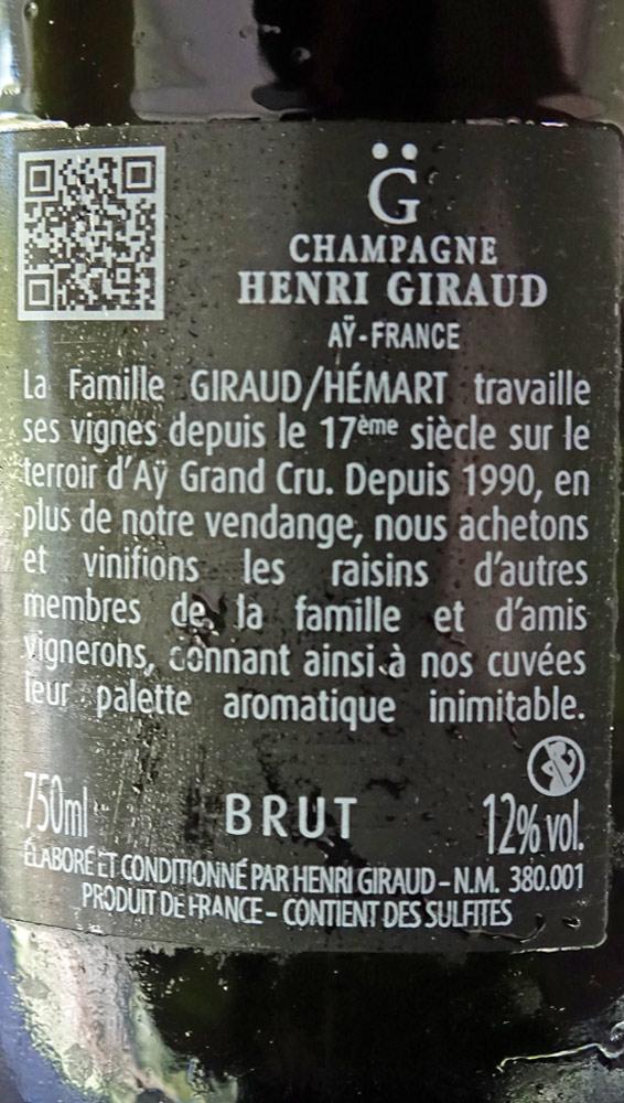 Le Champagne de l'apéritif, son étiquette