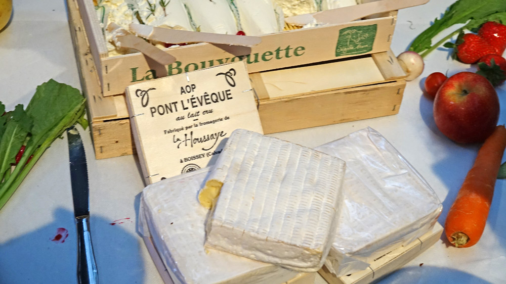 Quelques-uns des fromages proposés ... ceux-là font envie !