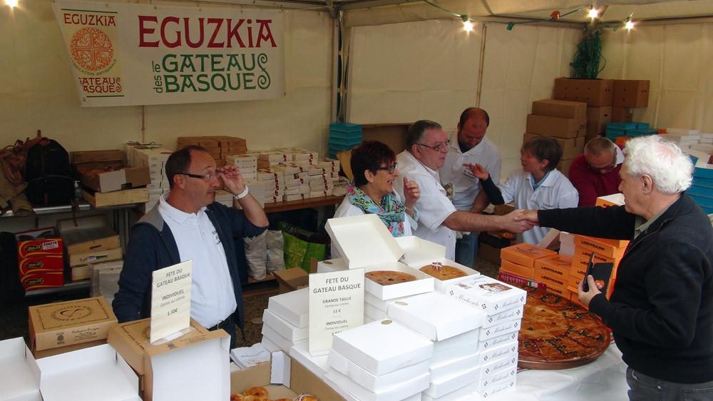 Le stand Eguzkia