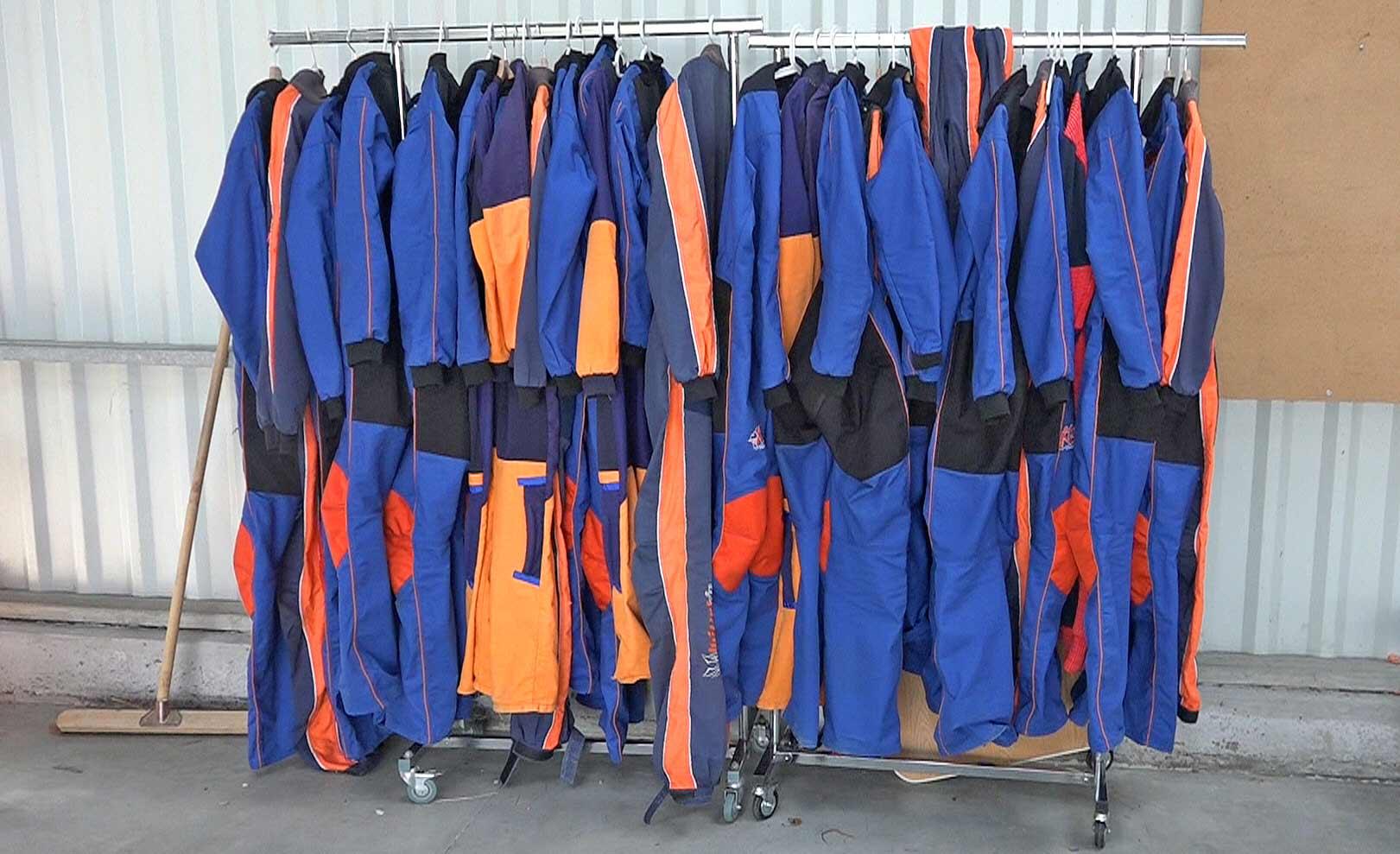 Les tenues pour le saut
