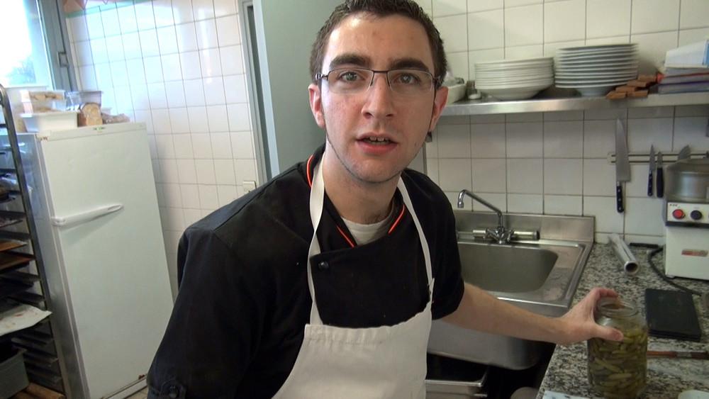 Sébastien, second de cuisine