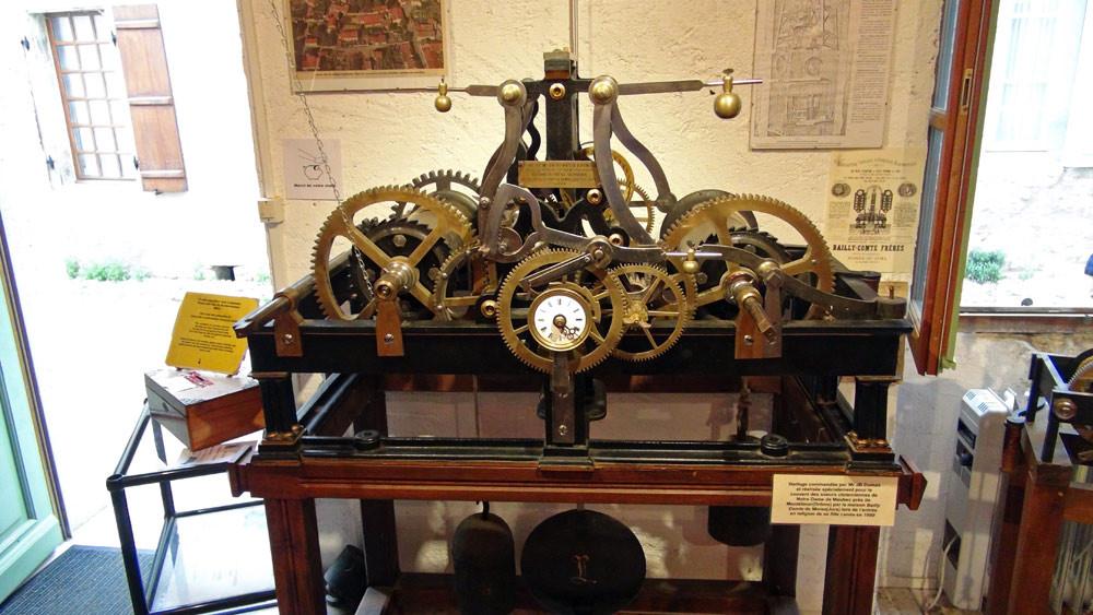 Horloge commandée de JB Dumas - 1860