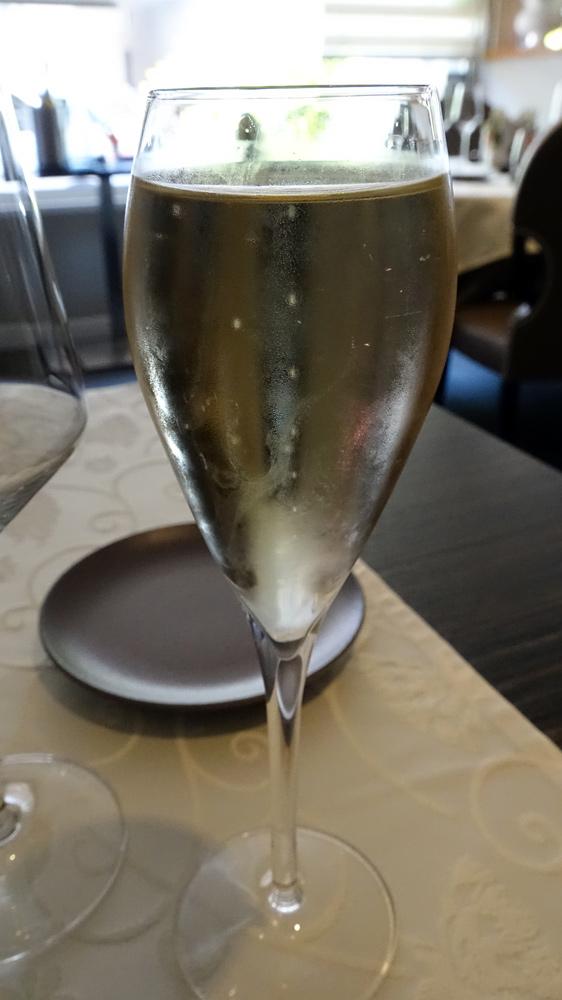 Champagne Veuve Doussot pour l'apéritif