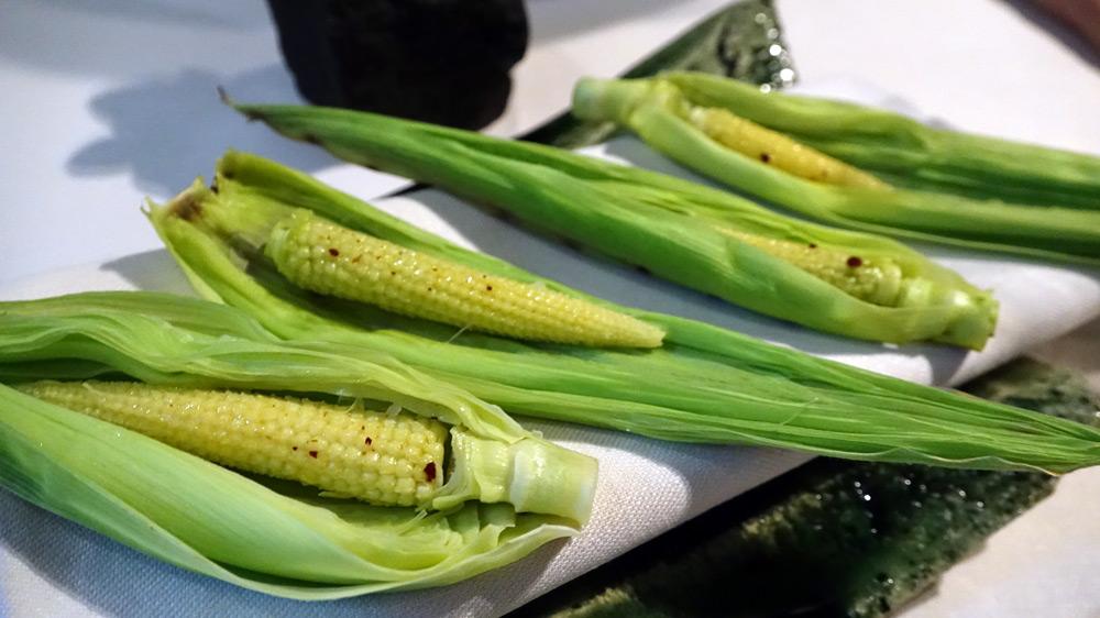 Maïs grillé au naturel
