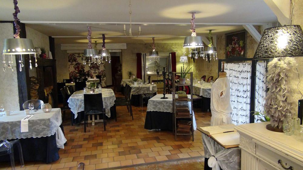 La salle à manger, vue de l'entrée