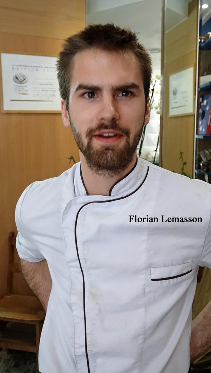 Florian Lemasson, second, spécialiste du Pâté en croûte et fan de mes vidéos !