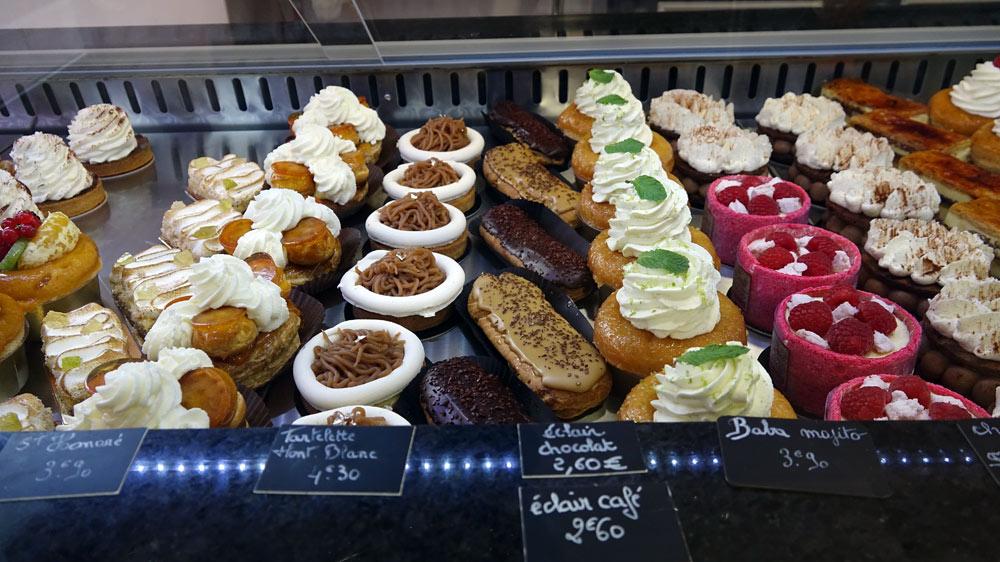 Quelques gâteaux individuels