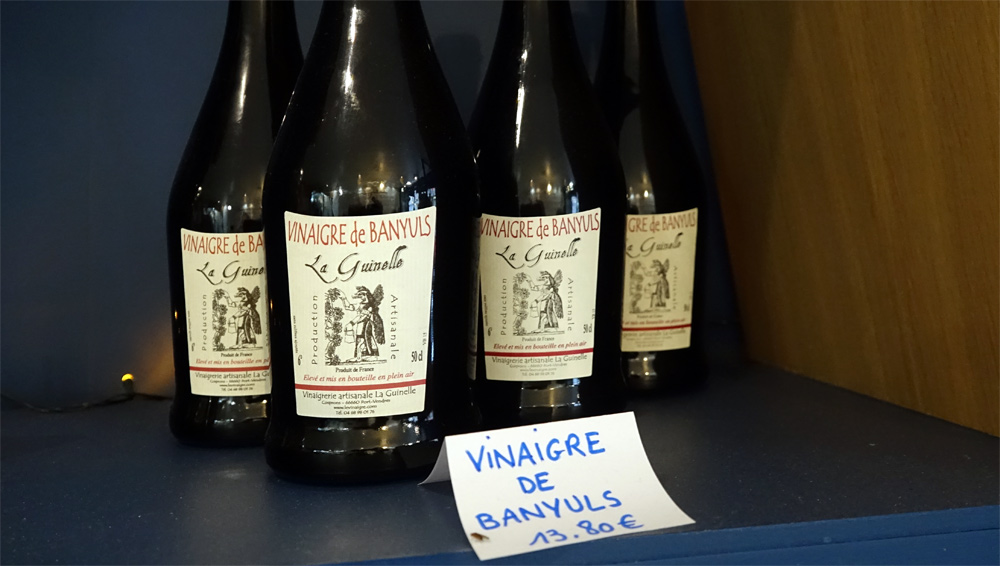 Vinaigre de Banyuls