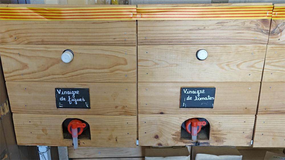 """Vinaigres d'abricots """"maison"""""""