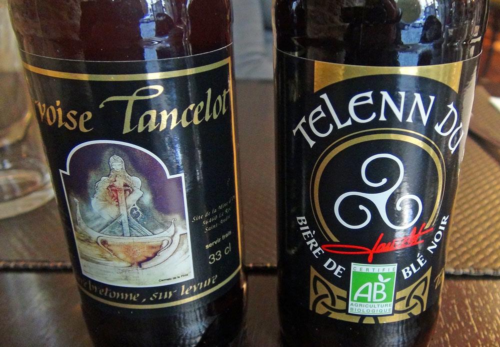 Bières Lancelot : Cervoise & Telenn Du