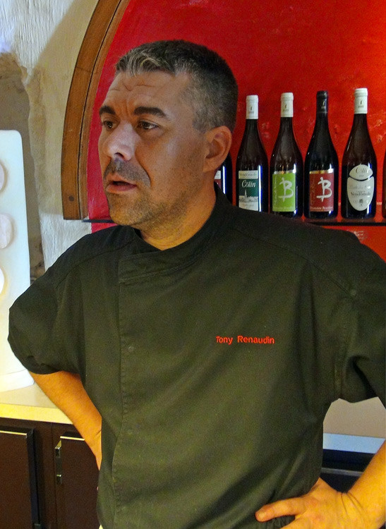 Le chef, Tony Renaudin