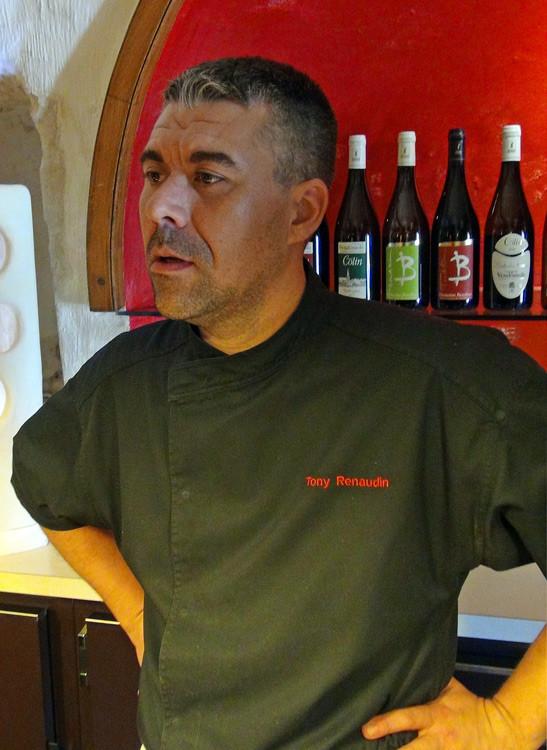 Le chef, Tony Renaudin