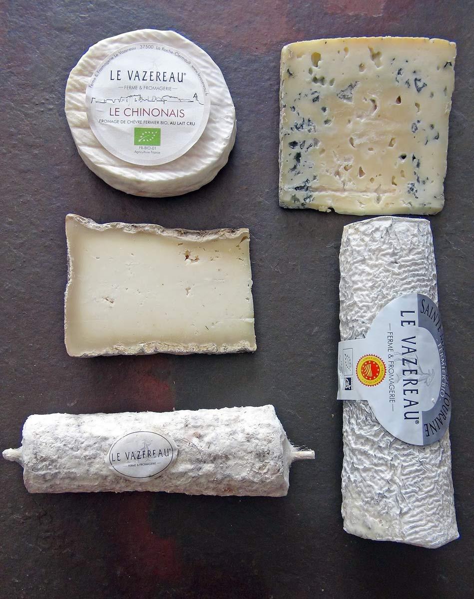 Les fromages achetés