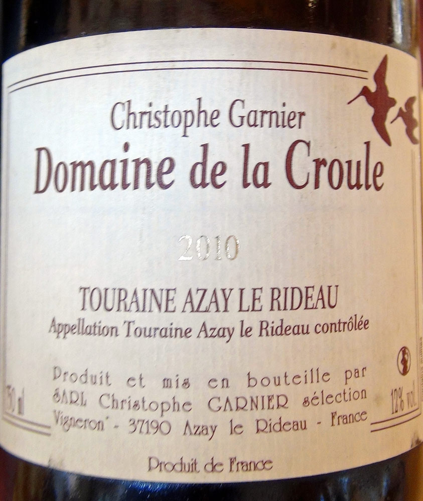 Touraine Azay-le-Rideau 2010 de Christophe Garnier