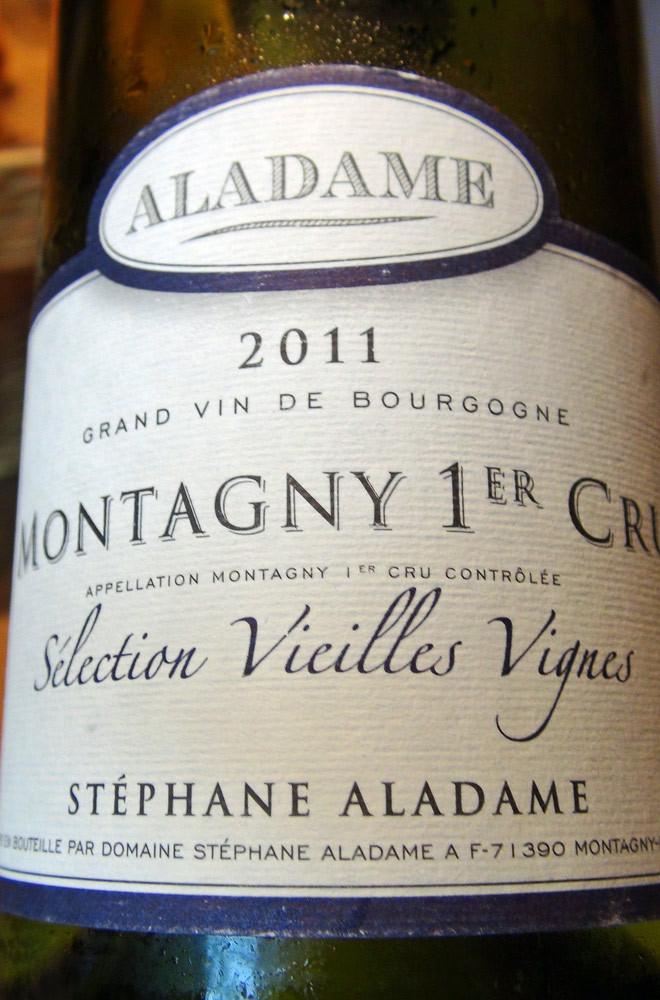Montagny 1er cru 2011 Aladame
